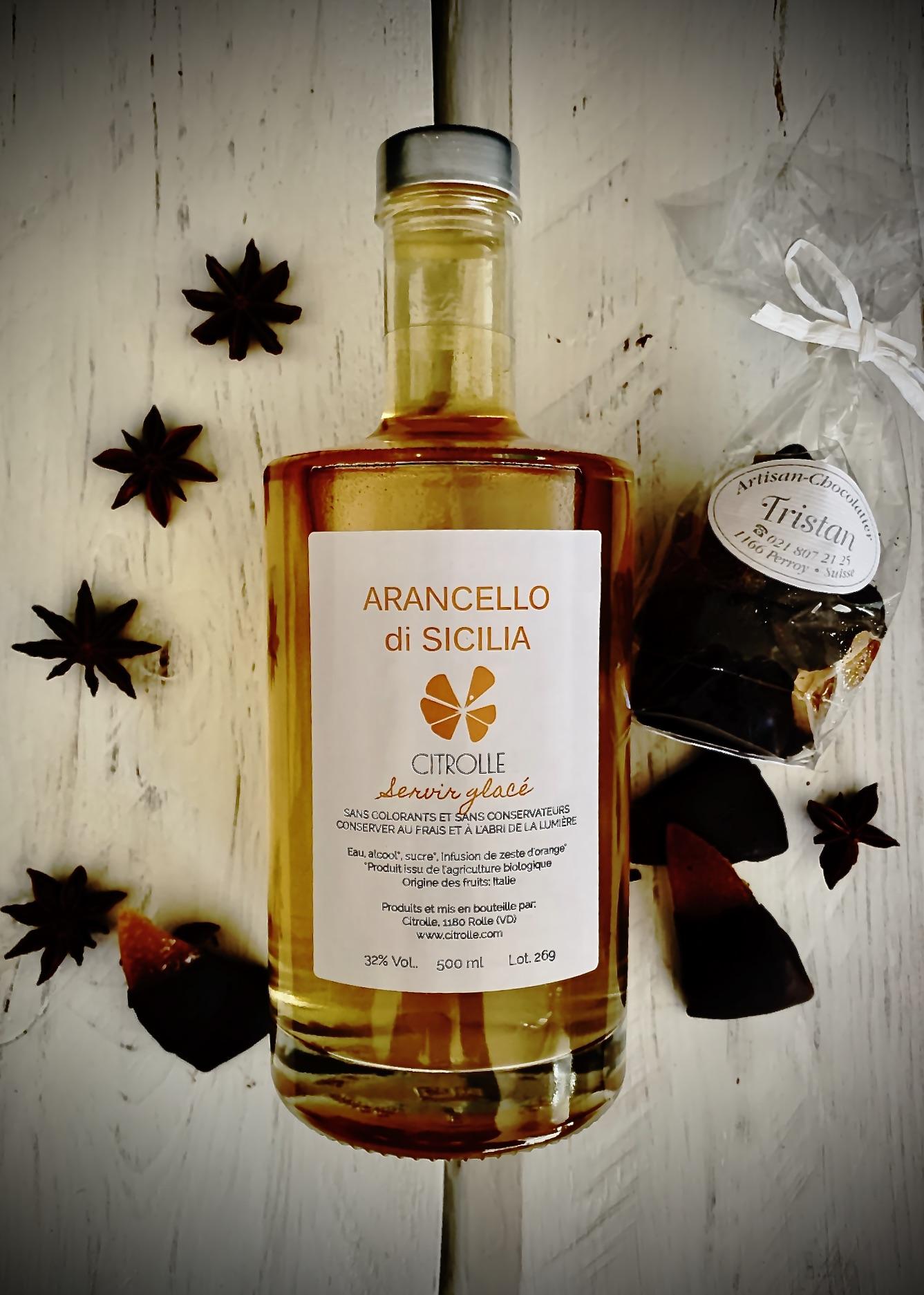Boîte Arancello & orangettes siciliennes