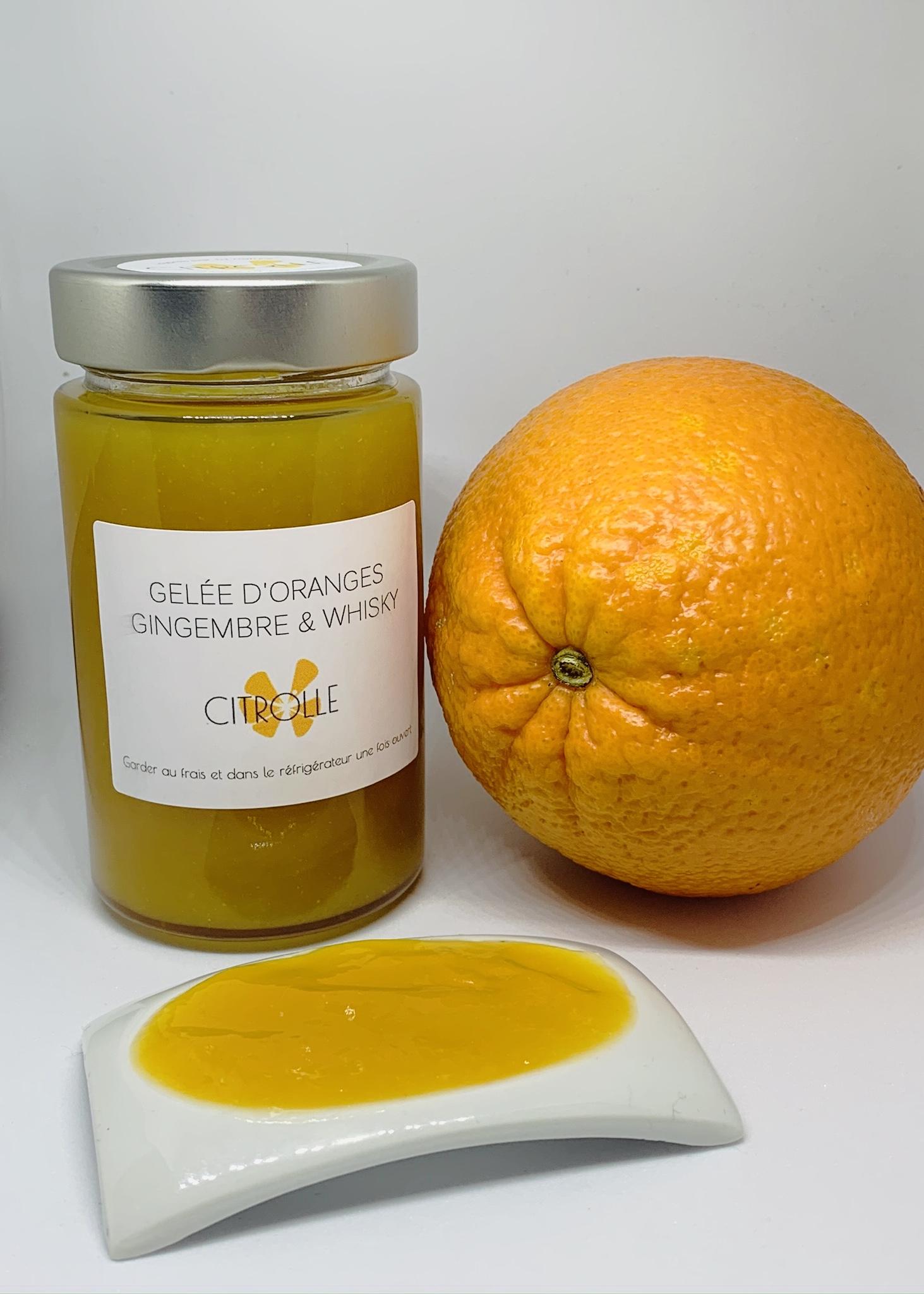 Gelée Orange Gingembre Whisky BIO