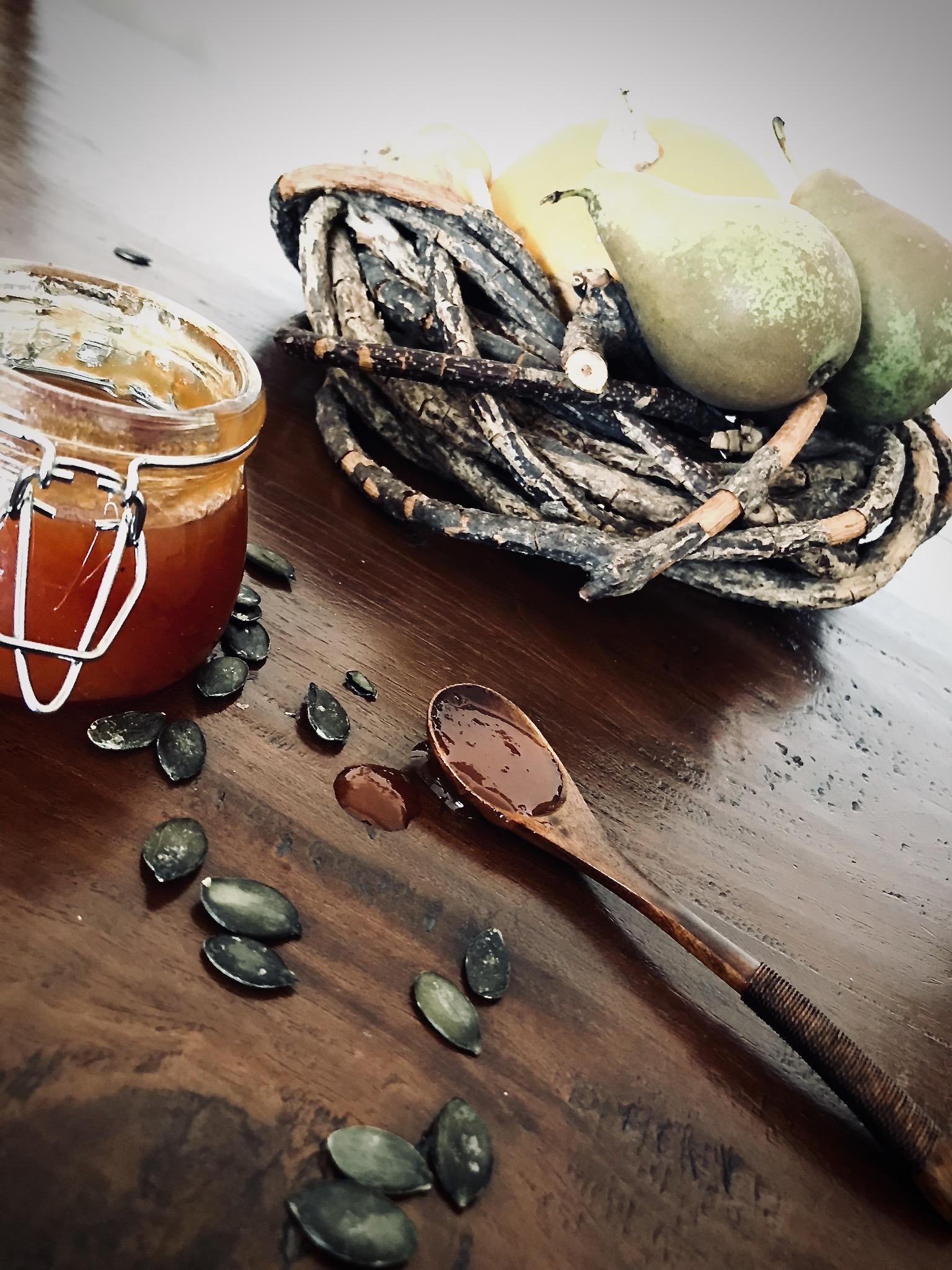 Confiture Poire & Courge à la vanille