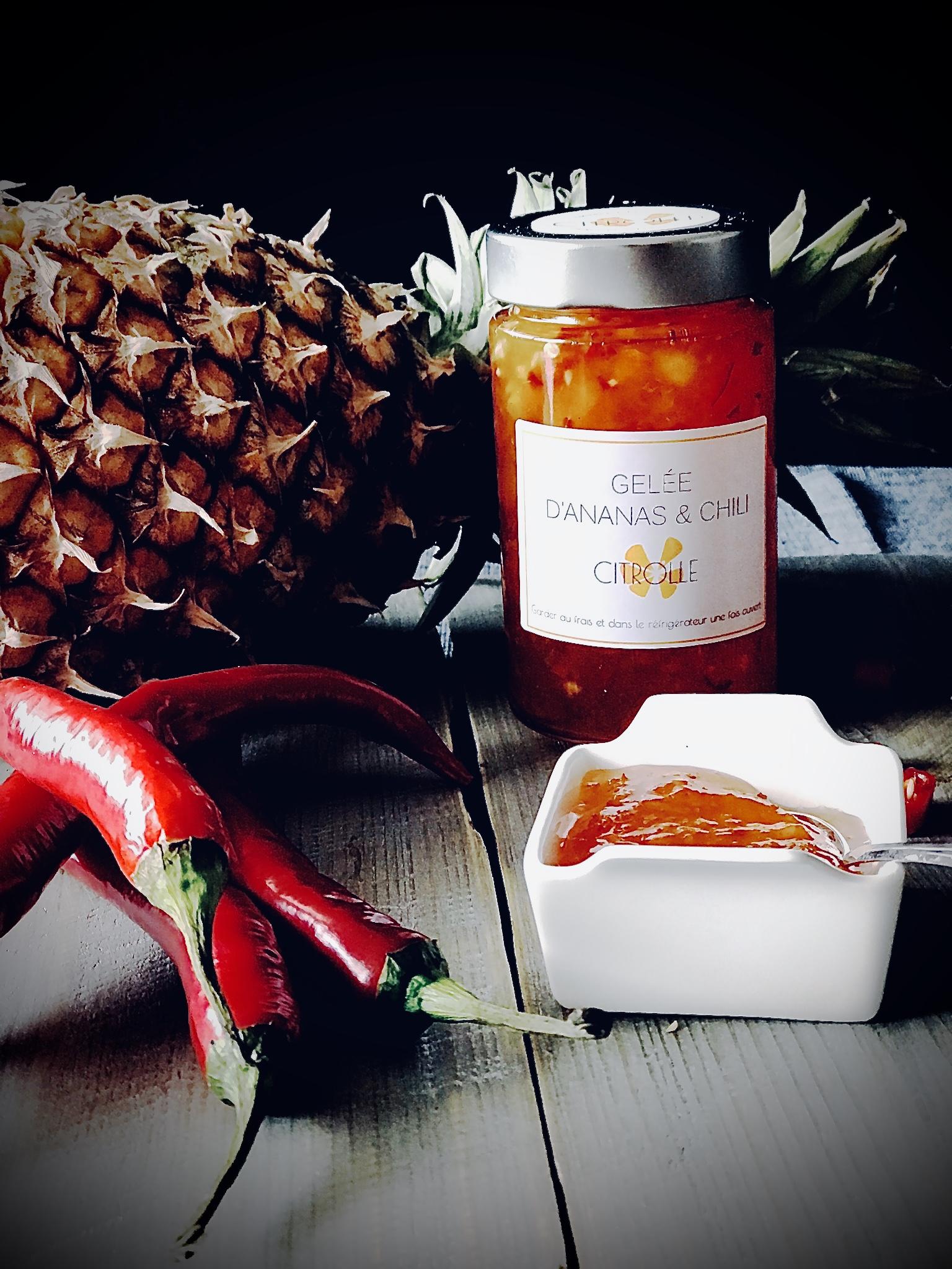 Gelée Ananas & Chili