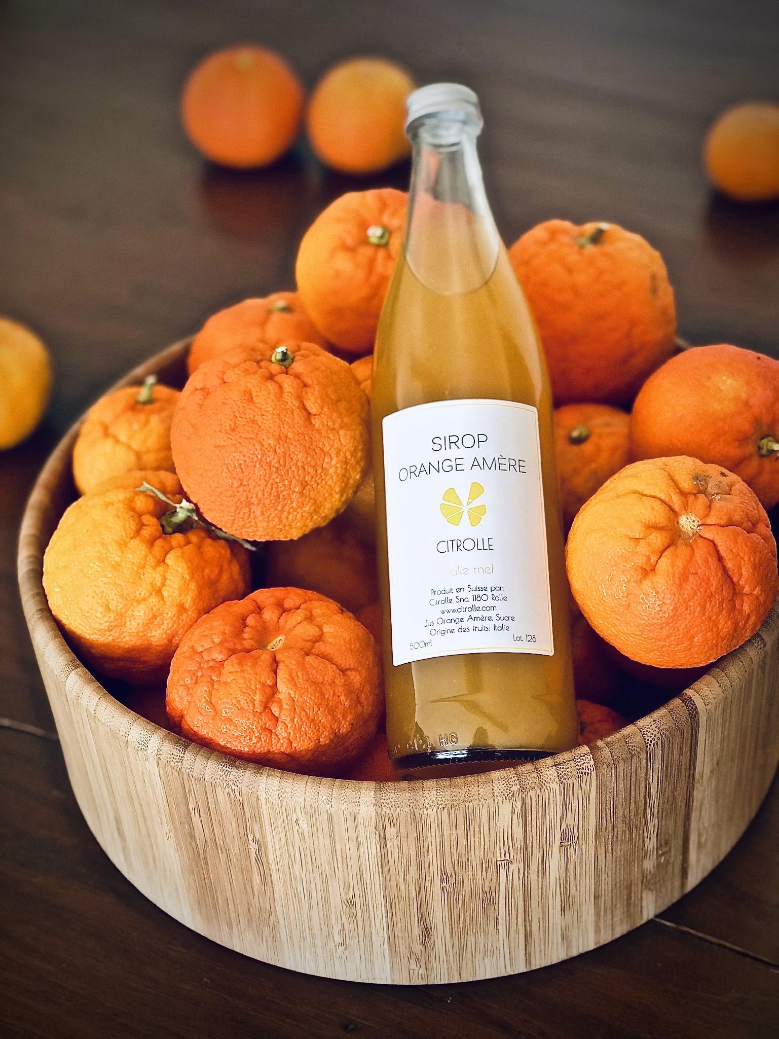 Sirop Orange Amère